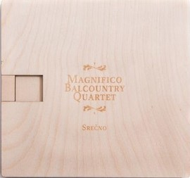 Magnifico Balcountry Quartet - Srečno (CD)
